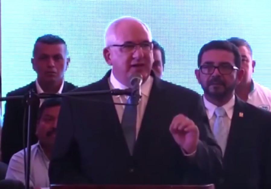 Guatemalan presidential candidate Isaac Farchi (Screenshot/ILTV)