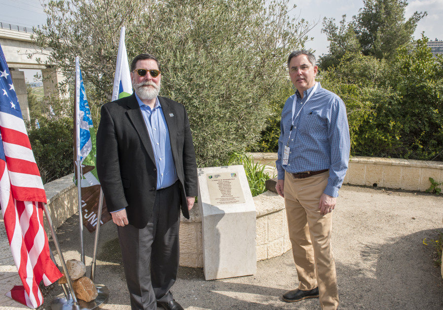Pittsburgh Mayor Visits Tree of Life Synagogue Memorial in Israel