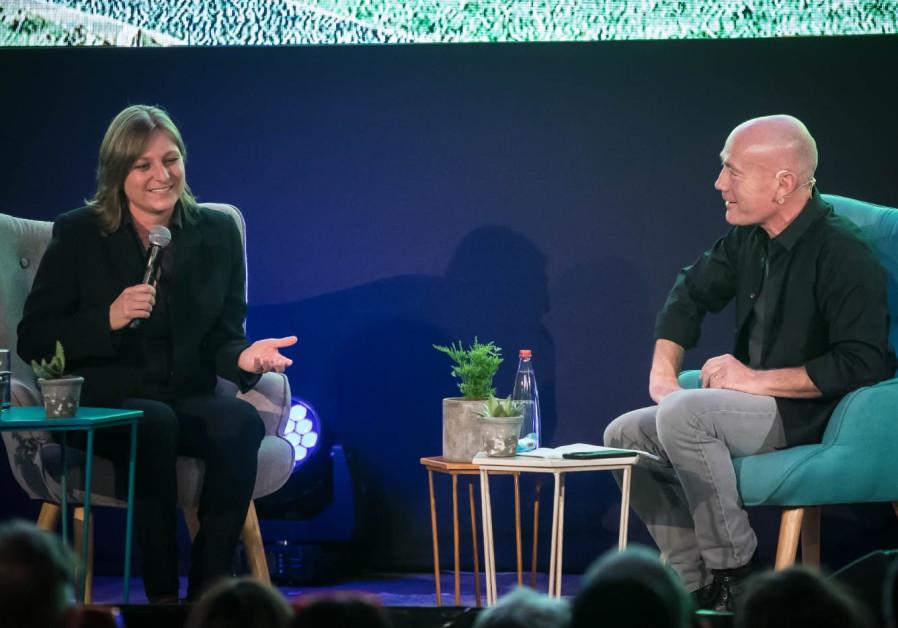 Keshet CEO Avi Nir speaks to Netflix VP Cindy Holland
