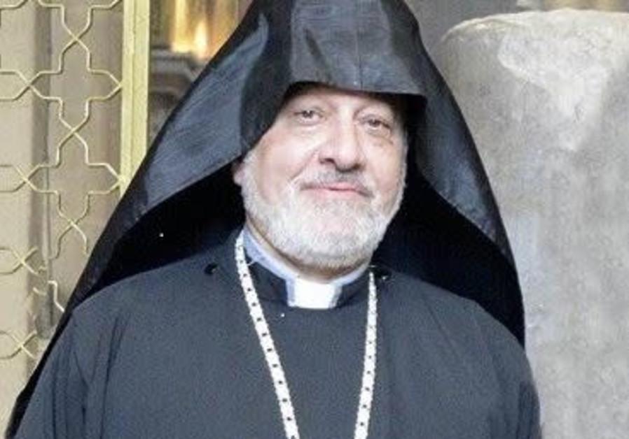 Fr. Hampartzoum of the Armenian Patriarchate in Jerusalem passes away