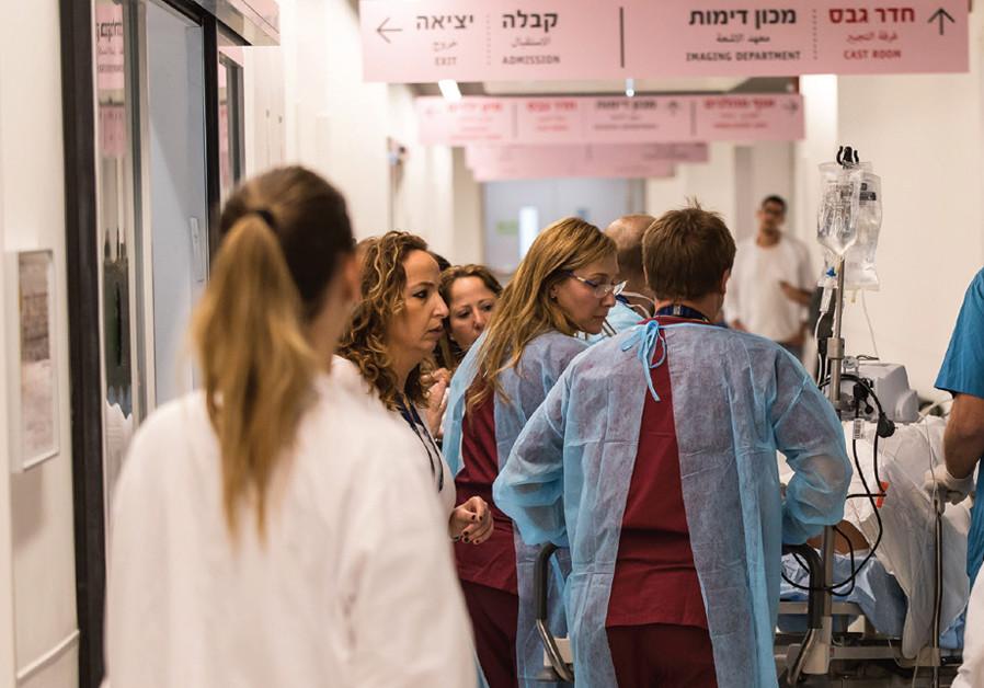 Treating trauma in Ashdod - Jerusalem Report - Jerusalem Post