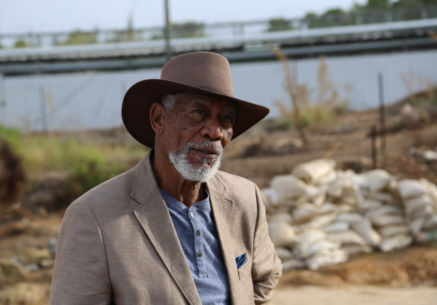 Morgan Freeman searches for divinity in Israel