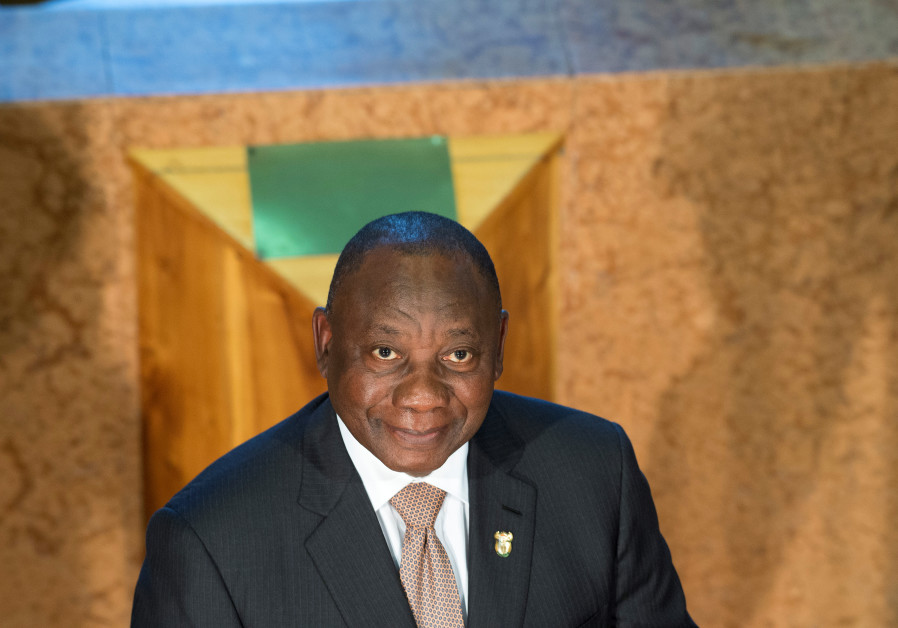 S. African President: Downgrading of our embassy in Israel in progress