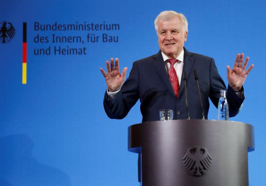 German Interior Minister Horst Seehofer