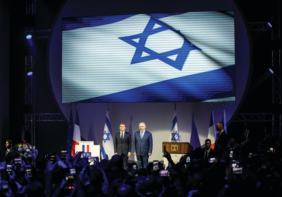 ARE FRANCE and Israel similar? French President Emmanuel Macron and Prime Minister Benjamin Netanyah