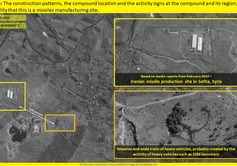 Satellite images show another Iranian missile site in Syria ( IMAGESAT INTERNATIONAL (ISI)