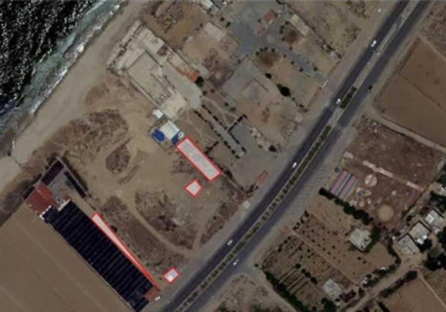 Underground rocket production site