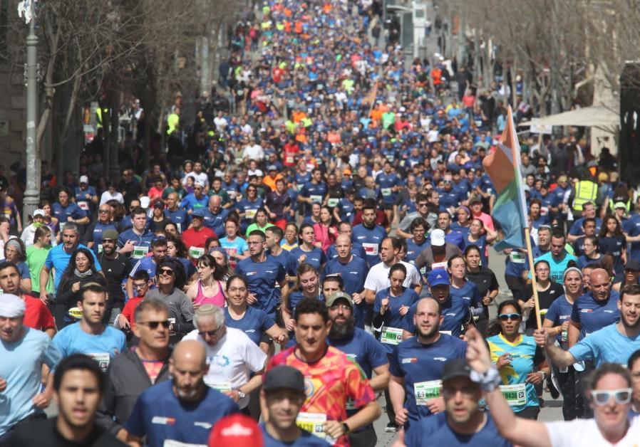 Jerusalem Marathon attracts over 40,000 participants for annual race