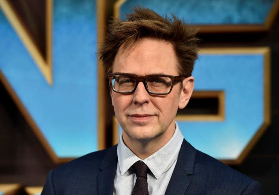 "Director James Gunn attends a premiere of the film ""Guardians of the galaxy, Vol. 2"" in London"