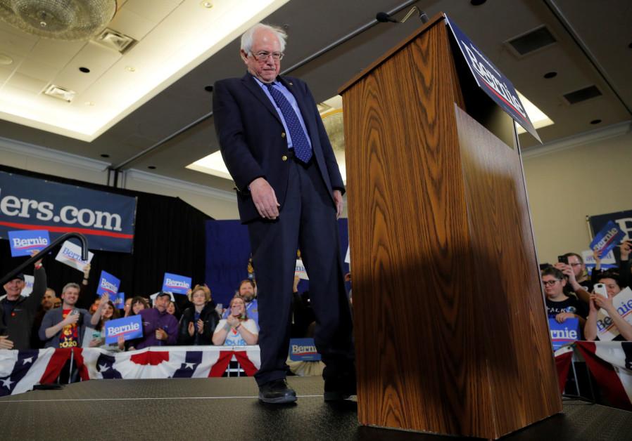 Democratic 2020 U.S. presidential candidate and U.S. Senator Bernie Sanders (I-VT)