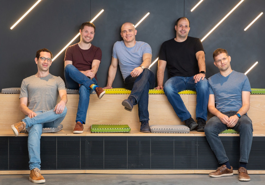 (From L) Co-founders Itai Tsiddon, Yaron Inger, Zeev Farbman, Amit Goldstein and Nir Pochter