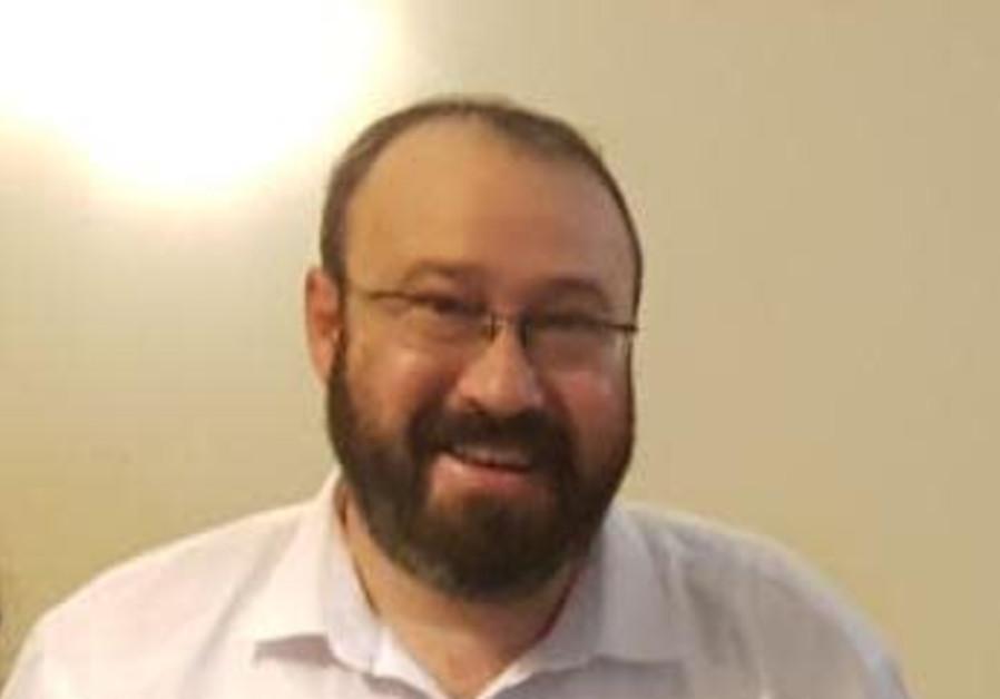 Rabbi Ahiad Ettinger (Nadav Goldstein/TPS)