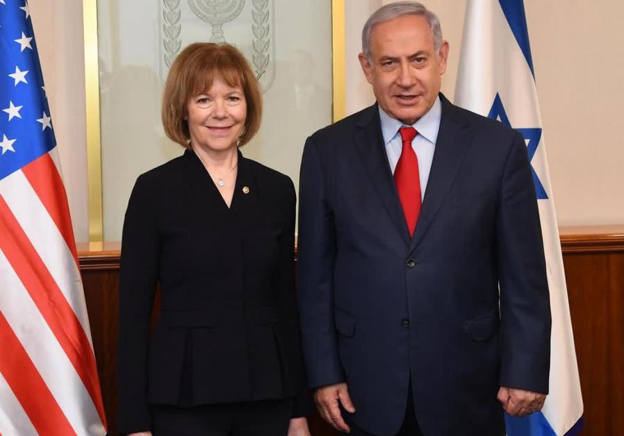 Minnesotan Democratic Senator visits Israel
