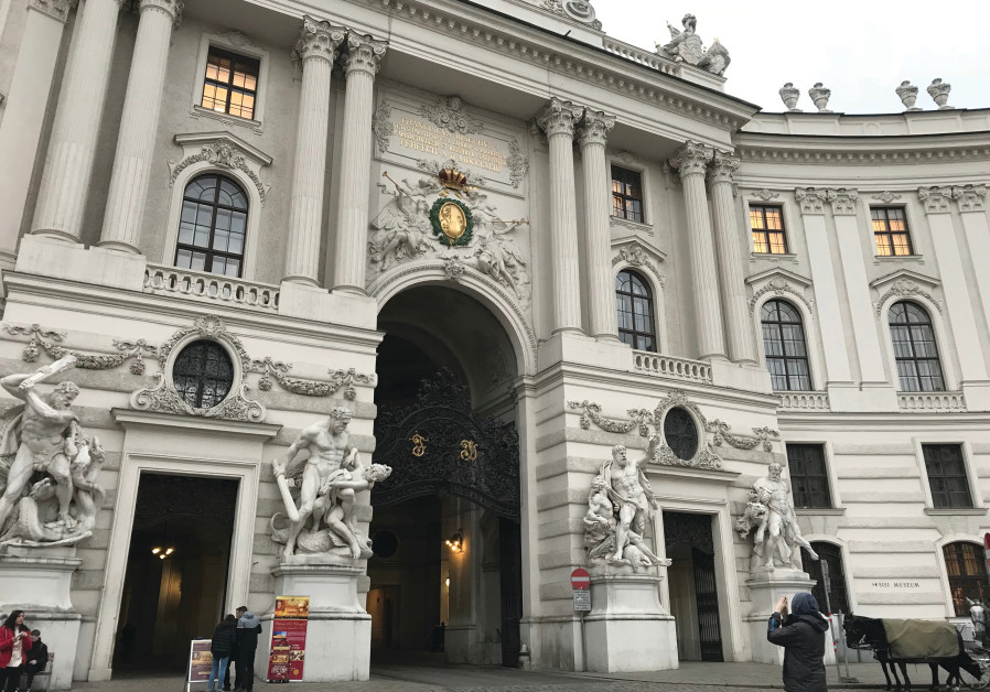 THE INNERER BURGHOF is the largest inner castle courtyard at the Hofburg in Vienna