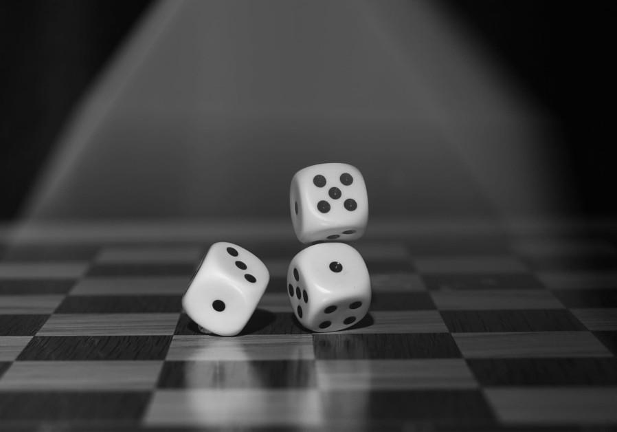 Gambling dice [Illustrative]