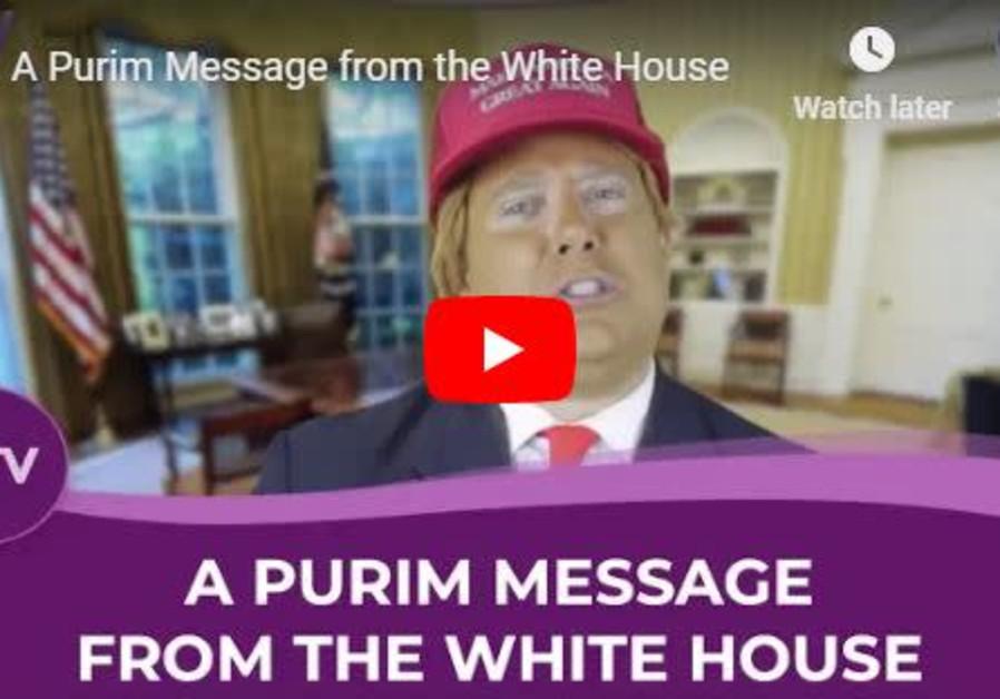 Trump Purim parody