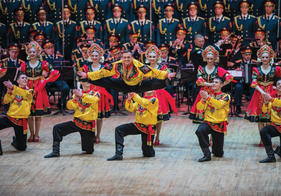 THE RED Army Choir enthralled the audience in Jerusalem.