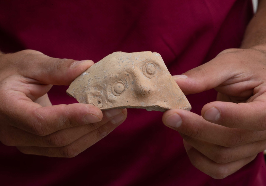 Ancient Persian-era jar fragment found in City of David