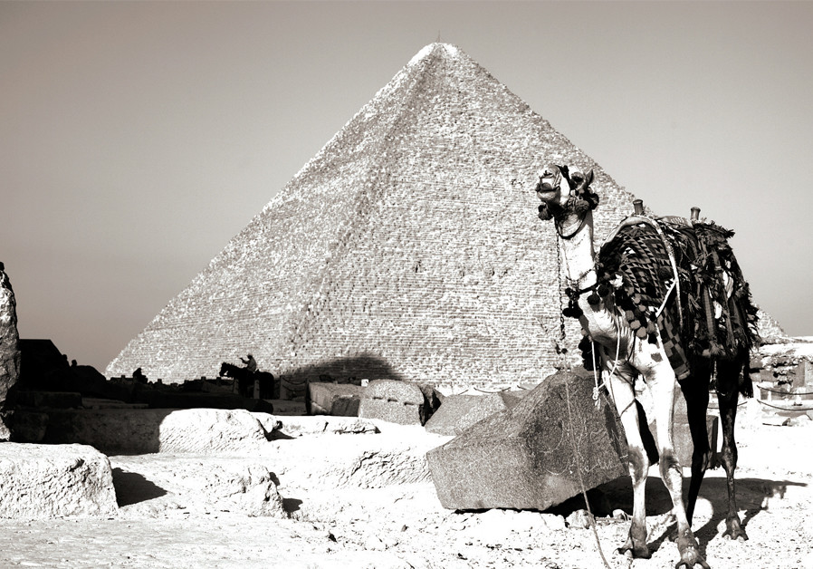 Crossing the border into Egypt in the late 1970s