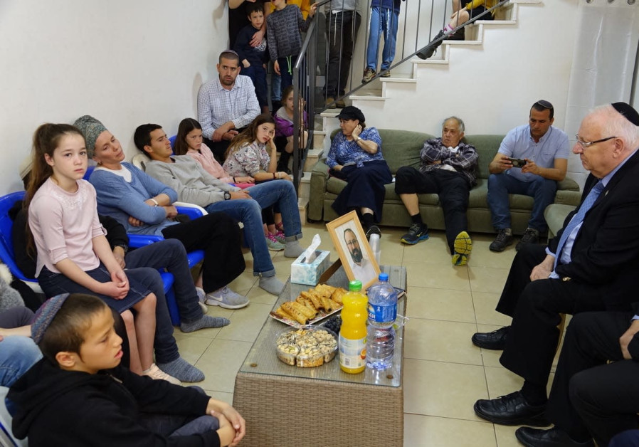 President Rivlin with Ettinger Family (Beit HaNasi)