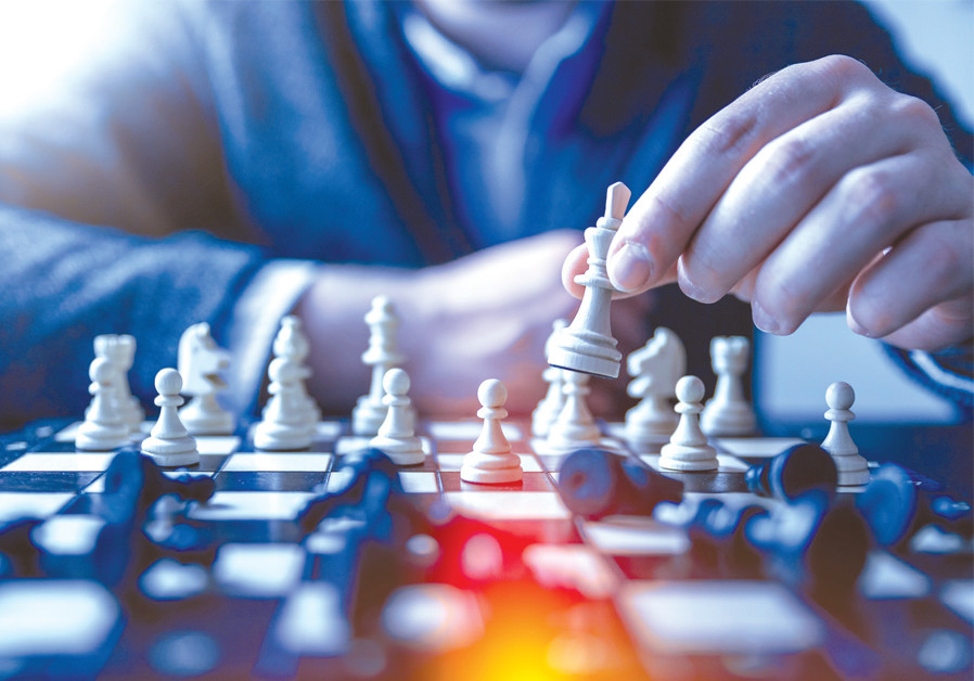Thoughts to ponder: Purim and the nervous-syndrome chess game