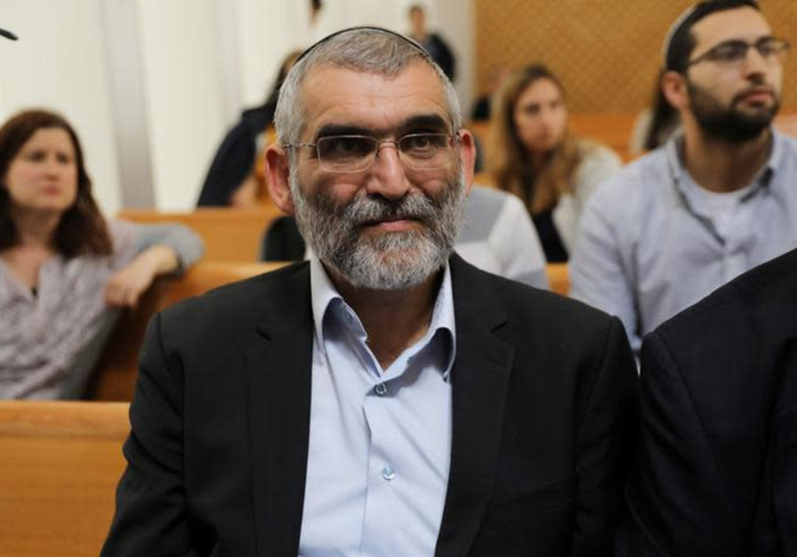 Michael Ben-Ari attends a hearing at Israel's Supreme Court in Jerusalem March 13, 2019