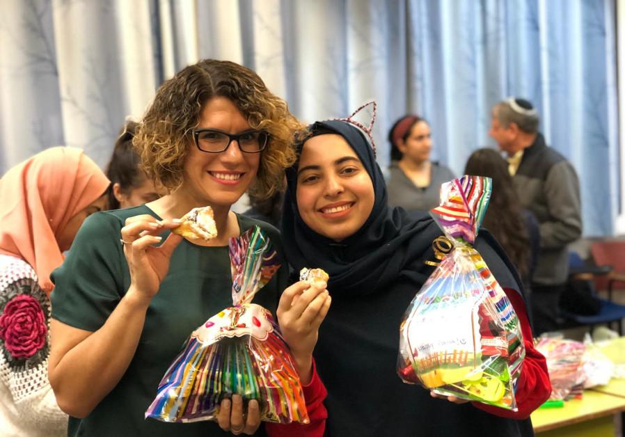 Purim celebrations.