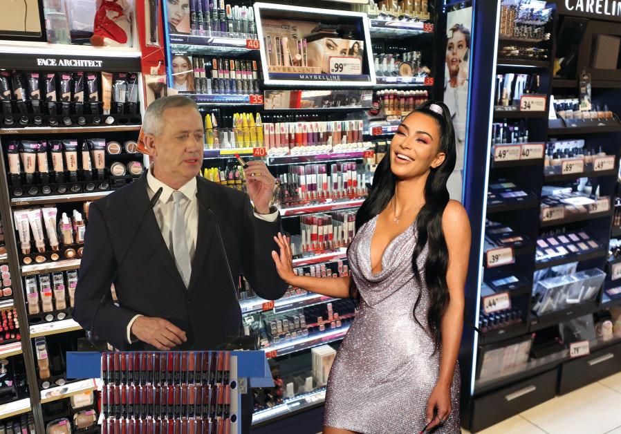 Gantz hires Kim Kardashian as accessory guru
