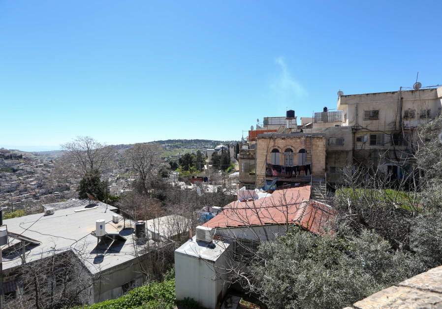 Possible location for cable car station in Silwan
