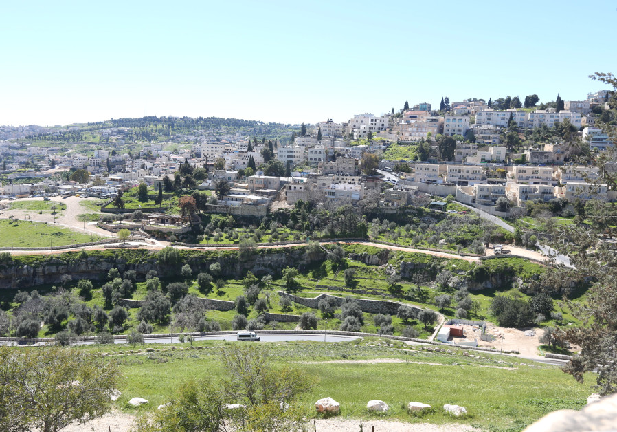 Gehenna (in Greek) or Ben-Hinnom (in Hebrew) valley in Jerusalem (Credit: Marc Israel Sellem/The Jerusalem Post)