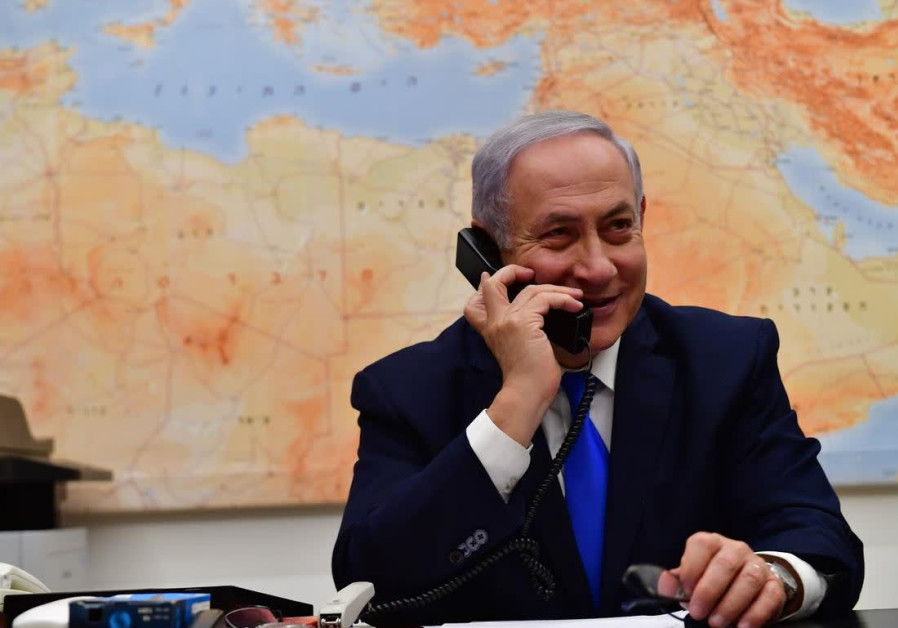 Netanyahu, in close election race, visits with U.S. President Donald Trump