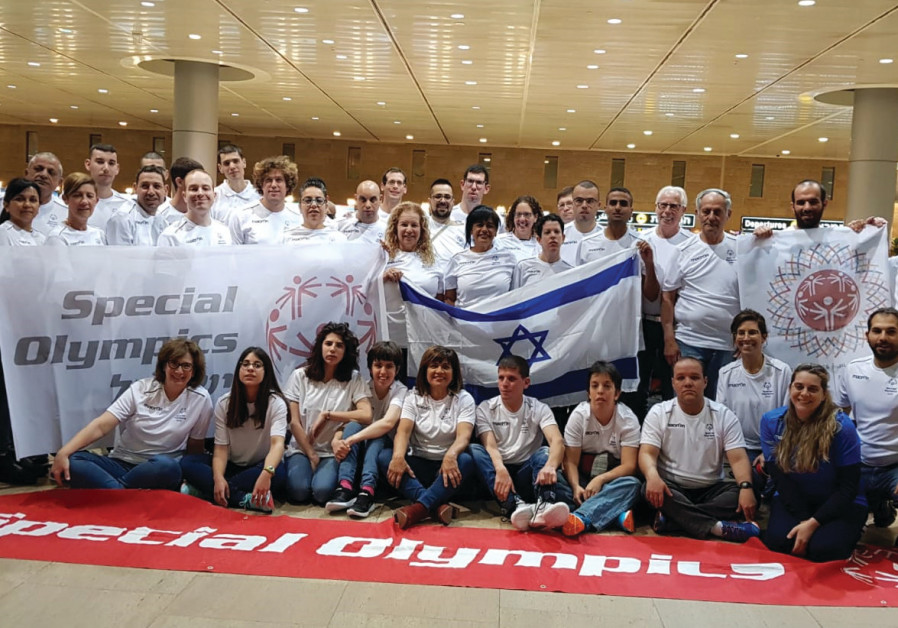 ISRAEL'S DELEGATION to the 2019 Special Olympics World Games in Abu Dhabi consisted of 25 athletes