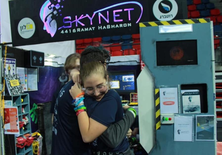 Ramat Hasharon robotics wins