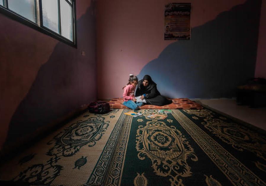 Gaza children experiencing psychosocial distress