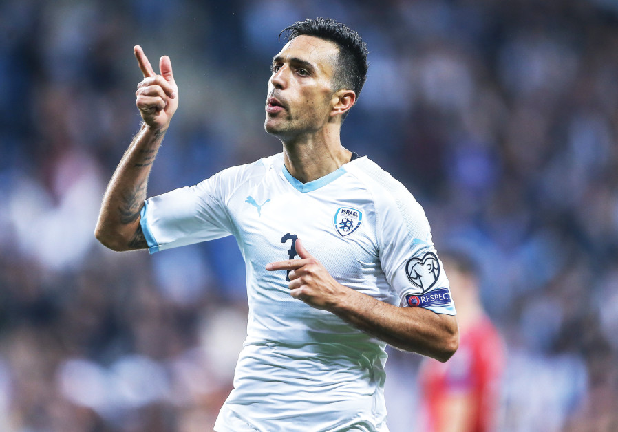 ERAN ZAHAVI has scored four of Israel's five total goals in the its first two games