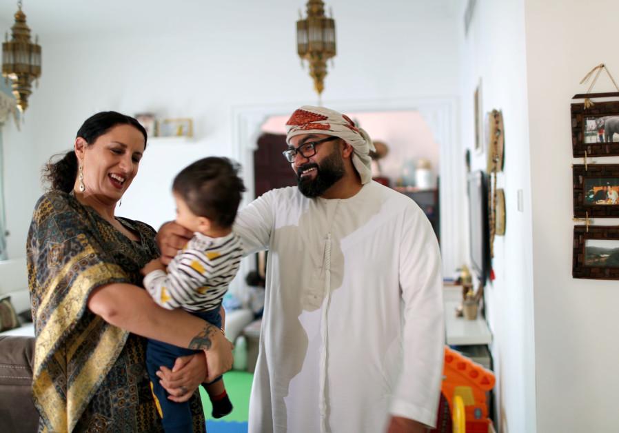 Ali al Sayed, local Muslim, and his wife Mina Liccione