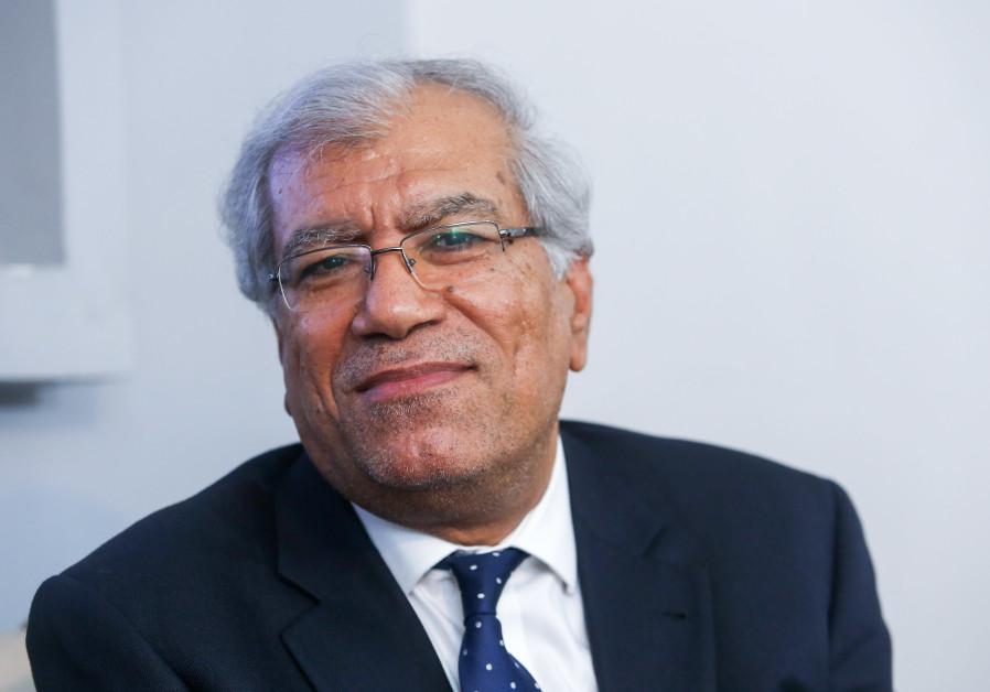 Khalil Shikaki at the Jerusalem Press Club, March 27th, 2019
