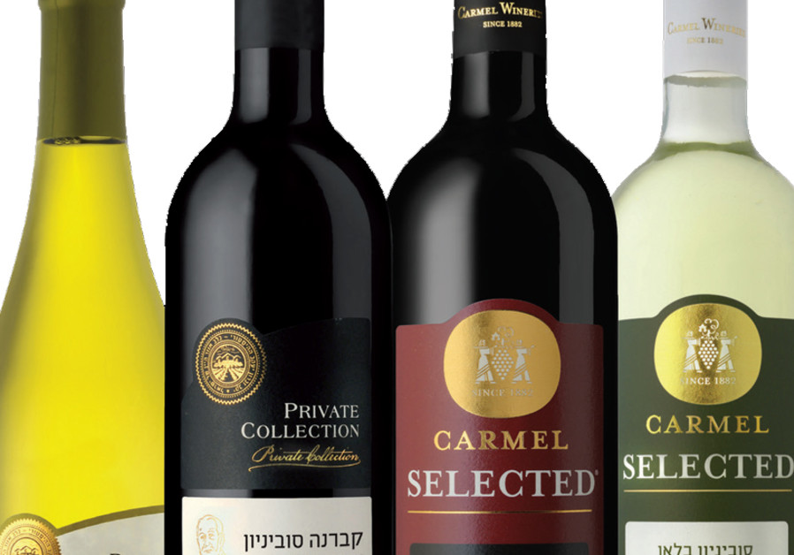 Preparing for Passover: Four cups of Israeli wine