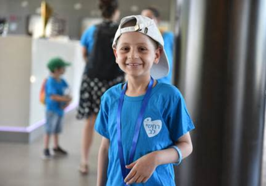 Assaf is only 9 years old and has already had to face life-threatening cancer
