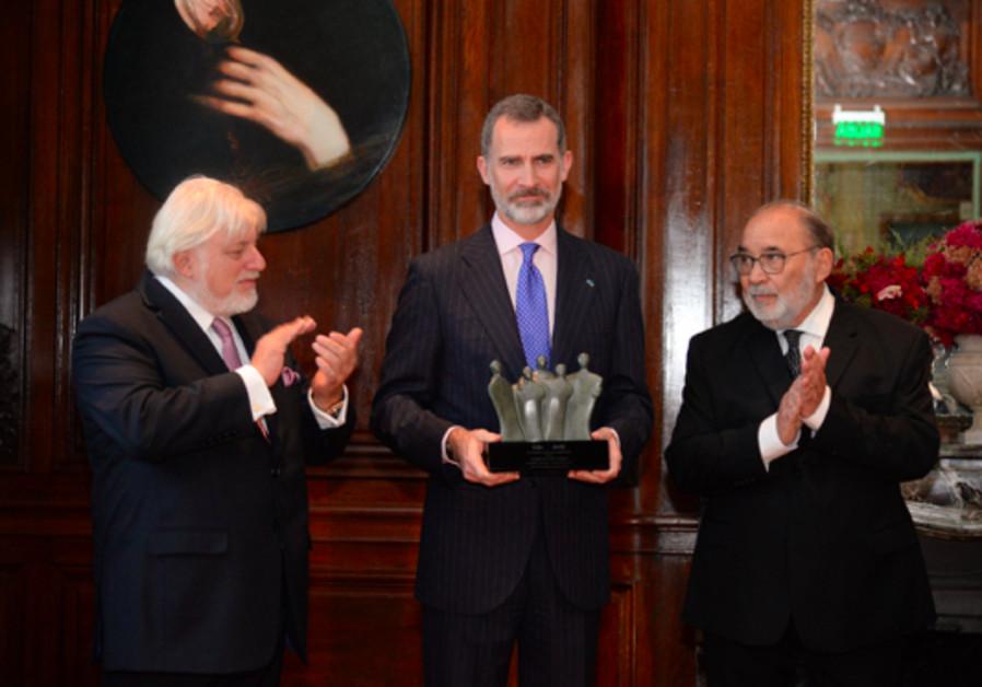 Resultado de imagen de King Felipe in a ceremony in Buenos Aires, Argentina