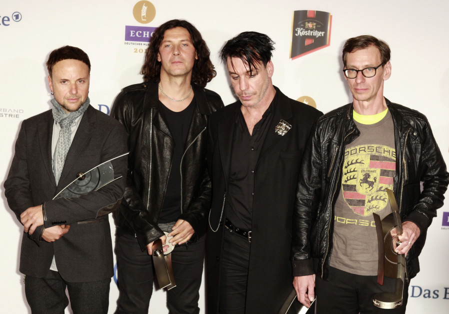 German band Rammstein blasted for concentration camp video