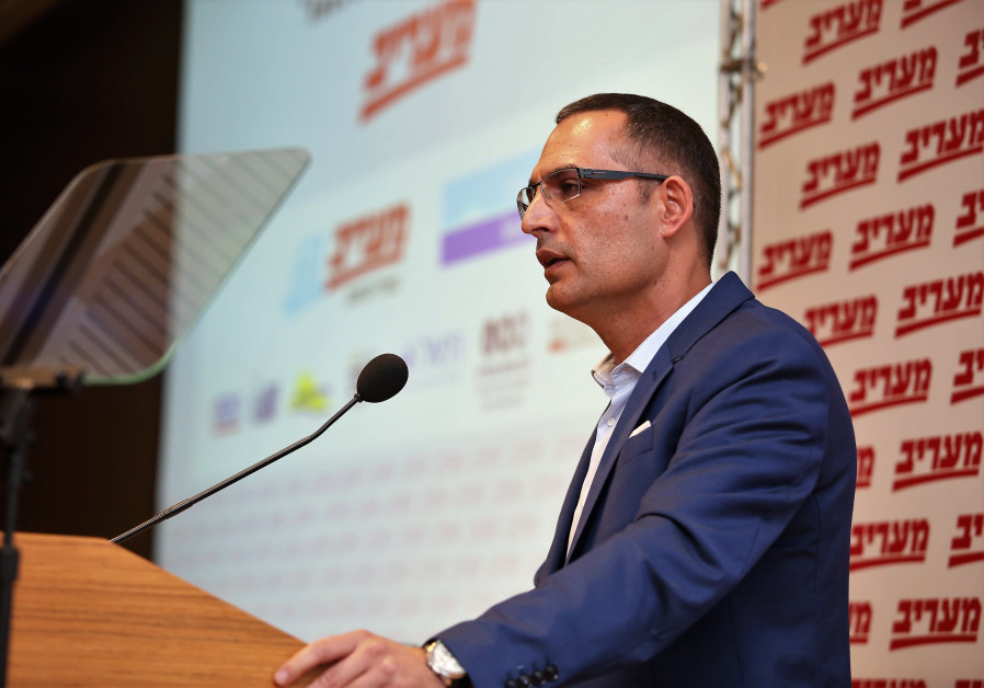Eyal Younian at the Maariv National Security Conferenc in Tel Aviv on March 27, 2019