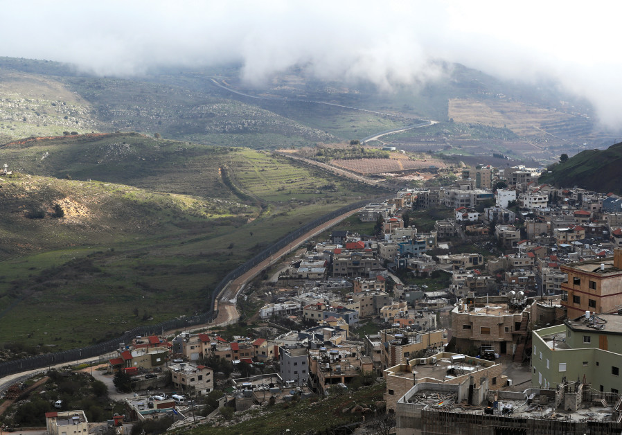 OPEN SITE of Shams Majdal in the Golan Heights near the border with Syria