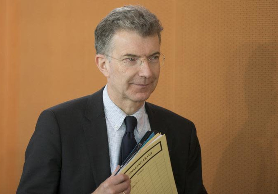 Germany's Ambassador to the UN, Christoph Heusgen