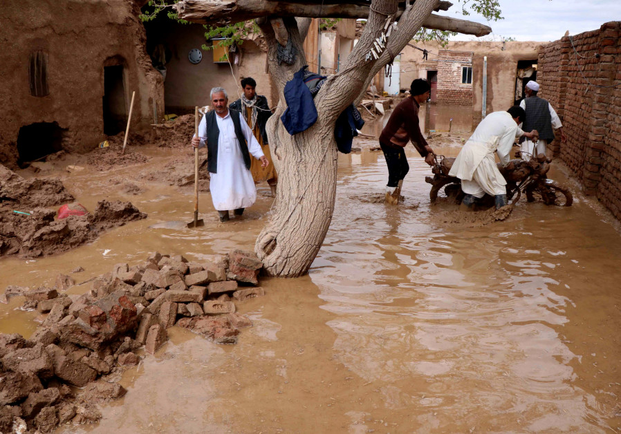 Afghanistan flood death toll at 17, worsening already desperate situation