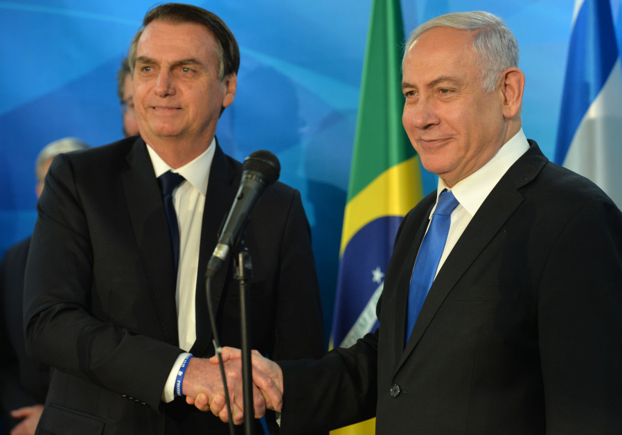 Brazil delays embassy move to Jerusalem, opens diplomatic office instead