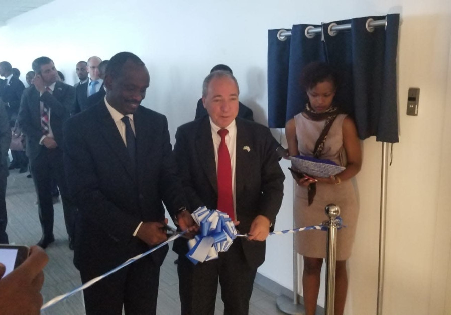 Opening of the Israeli embassy in Rwanda