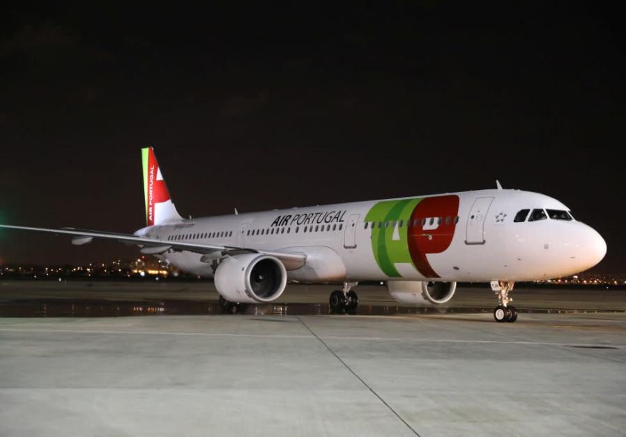 A TAP Air Portugal plane.