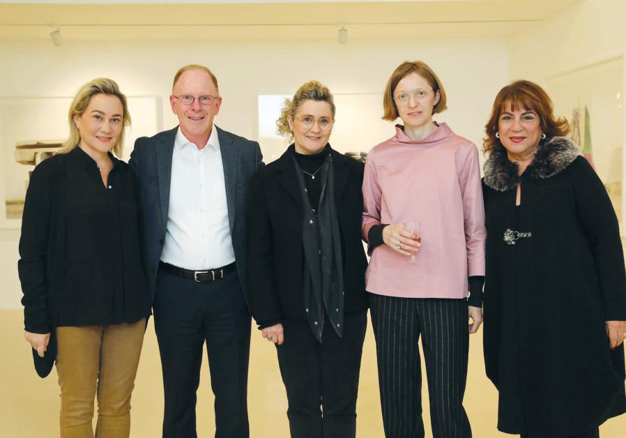 FROM LEFT, Lilach Asher-Topilsky, Shaul Kobrinsky, Aya Lurie, Natalia Zorabova and Shulamit Nuss