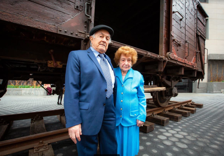 Train car that transported Jews to Auschwitz arrives in New York